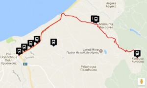 Polis & Latchi Bus Routes Kynousa