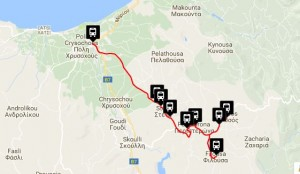 Polis & Latchi Bus Routes Lysos