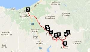 Polis & Latchi Bus Routes Lysos
