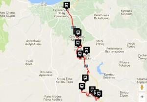 Polis & Latchi Bus Routes Miliou
