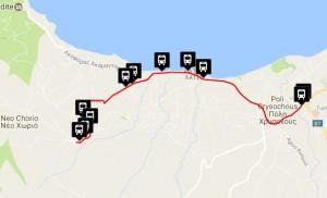 Polis & Latchi Bus Routes Neo Chorio - Latchi - Prodromi - Polis Chrysochous