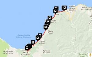 Polis & Latchi Bus Routes Pachyammos Pomos