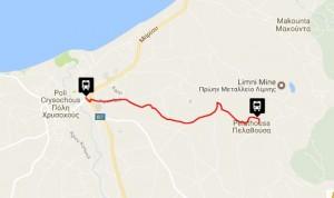 Polis & Latchi Bus Routes Pelathousa - Polis Chrysochous
